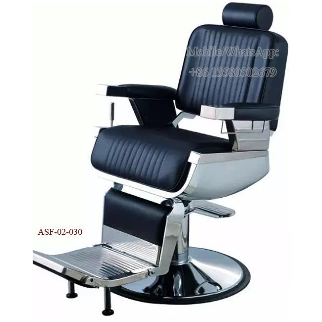 ASF-02-030 Wholesales Hydraulic Pump Barber Chair Headrest ,Hair Salon Chairs for Sale