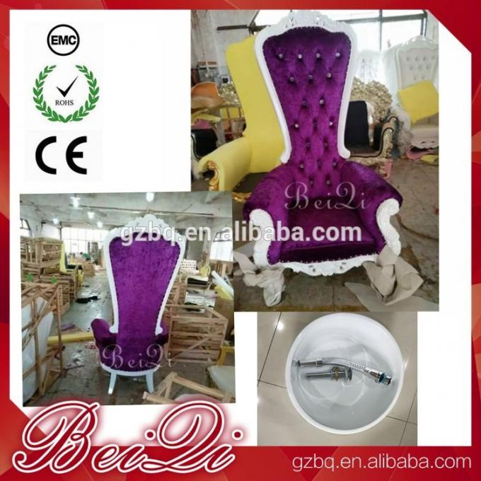 Wholesales Salon Furniture Sets New Style Luxury Pedicure Chair Massage Chair in Dubai