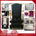 high back wedding chairs king throne pedicure chair foot spa equipment furniture