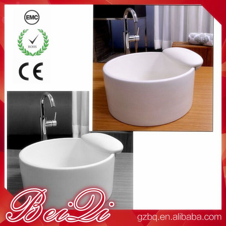 Factory Price New Ceramic Pedicure Bowl Used Foot Spa Pedicure Chair Foot Bath Basin
