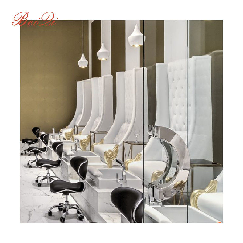 Luxury Spa Pedicure Chairs Used Nail Salon Equipment Egg Shaped Pedicure Chair Spa Pedicure Chairs Manufacturers