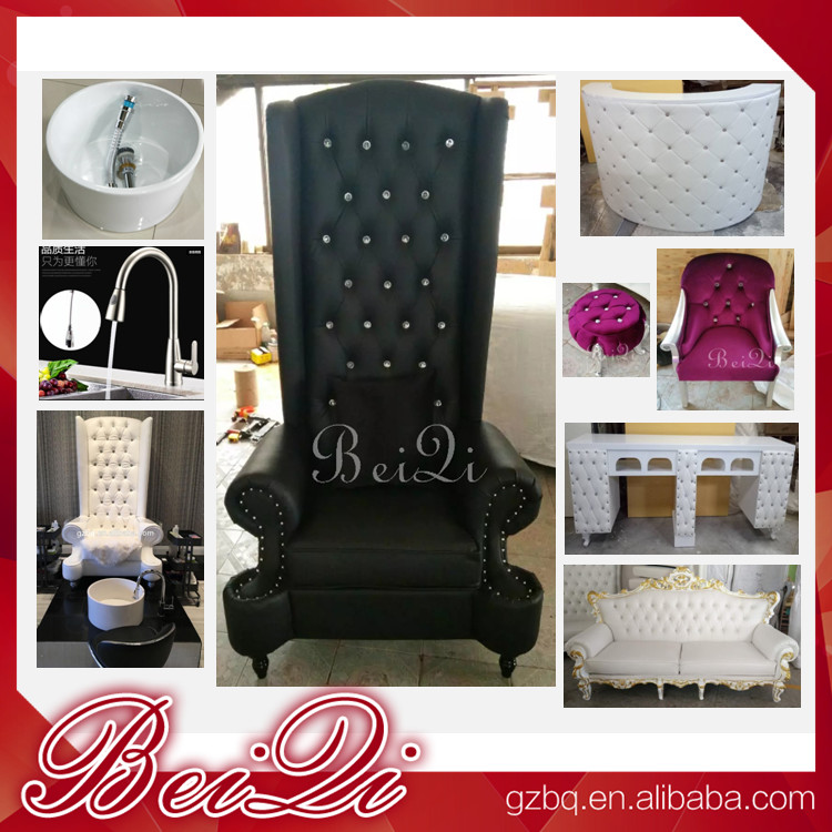 wholesale luxury manicure spa pedicure chair sets for sale , modern used pedicure chair with bowl