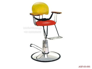 China ASF-03-001 Safety Children's Barber Chair with Belt ,Hydraulic Kids Salon Chair distributor