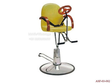 China ASF-03-002 Hydraulic Children's Hair Chair with Footrest,Simple Style Kids Barber Chair distributor