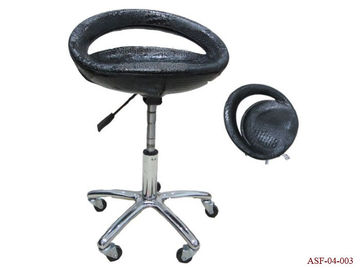 China ASF-04-003 China Guangzhou Salon Furniture Suppliers Black Color Hairdressing Master Chair distributor