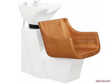 China ASF-06-018 Fireproofing Leather and Sponge Shampoo Chair Salon Furniture Promotion Price distributor