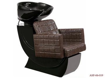 China ASF-06-019 Brown Color Shampoo Chair ,Cheap Bed Wash Chair Chain Manufacturer distributor