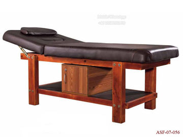 China ASF-07-056 Spa Shop Foldable Master Wooden Massage Bed High Grade Beauty Equipment distributor