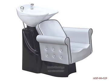 China ASF-06-029 Factory Price White Color Luxury Electric Shampoo Chair Manufacturer distributor