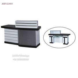 China ASF-12-014 Low Price Small Sized Checkout Counter in Salon Shop distributor