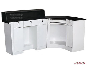 China ASF-12-016 New Style Salon and Spa Reception Desk Checkout Counter distributor