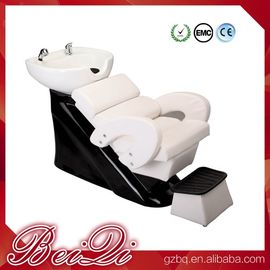 China Hair shampoo station wholesale salon furniture luxury massage shampoo chair wash unit distributor
