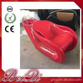 China 2018 Fiber Glass Shampoo Chair Hot Sale Used Silver Hair Washing Chair distributor