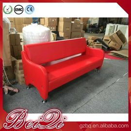 China Waiting area seating cheap waiting room bench chairs barber shop waiting benches 3-seater distributor