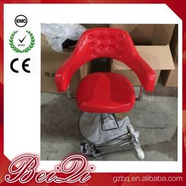 China Hair Salon Styling Chairs Used Barber Shop Equipment Antique Red Barber Chair distributor