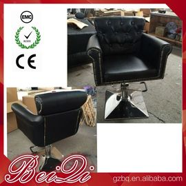 China Old Style Barber Chair Beauty Salon Hair Cutting Chairs Wholesale Hair Styling Chairs distributor