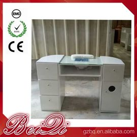 China Beauty Nail Salon Equipment Wholesale Nail Manicure Table with Vacuum Cheap Manicure Station distributor