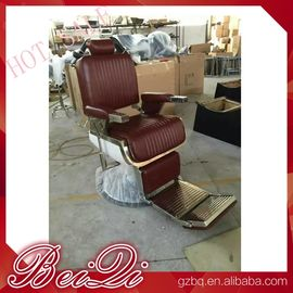 China Luxury hair salon furniture barber styling units reclining hairdressing chair for sale distributor