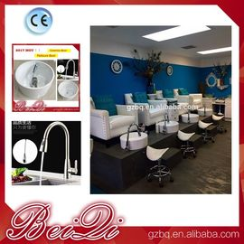 China High Back Throne Chair King Pedicure Chairs Used Nail Salon Furniture Queen Pedicure Spa Chair distributor