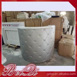 China reception desk beauty salon counter reception vintage front desk reception counter distributor