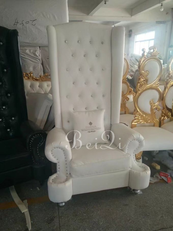 BeiQi manicure and pedicure equipment high back cheap king throne spa pedicure chair for sale