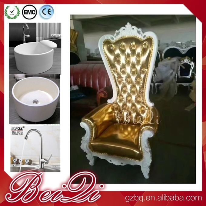 2017 Newest alon manicure pedicure equipment wholesale foot spa chair pedicure king throne