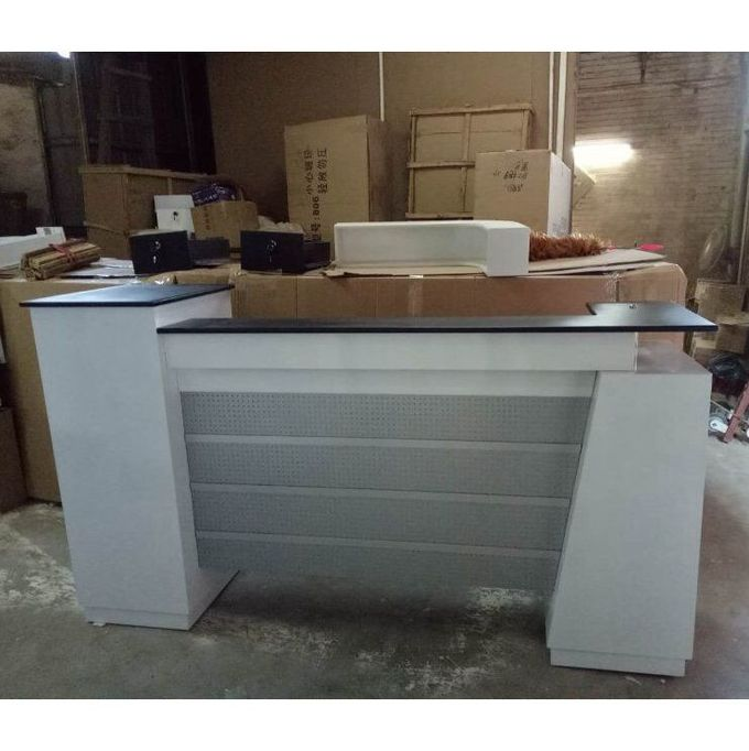 Used Beauty Salon Furniture Front Desk Checkout Counter Luxury Reception Table