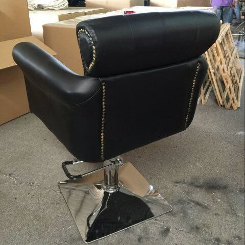 Magnificent Old Style Barber Chair Beauty Salon Hair Cutting Chairs Home Remodeling Inspirations Genioncuboardxyz