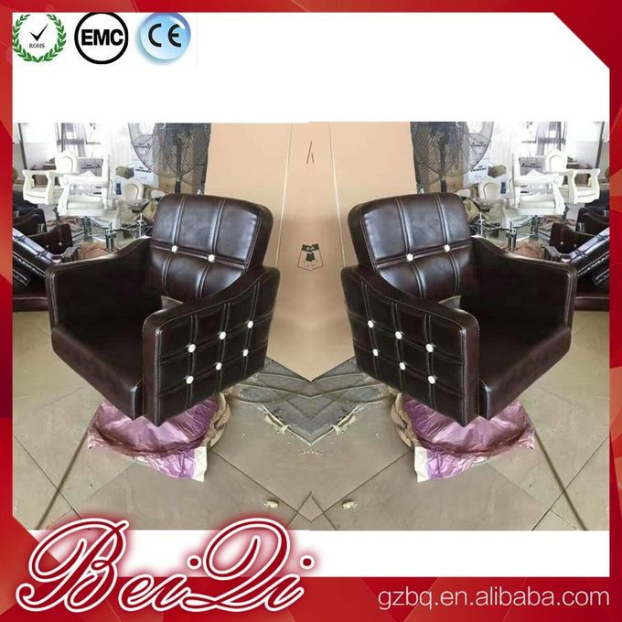 Antique styled salon styling chairs classic barber chair hair salon cheap hair cutting chairs price