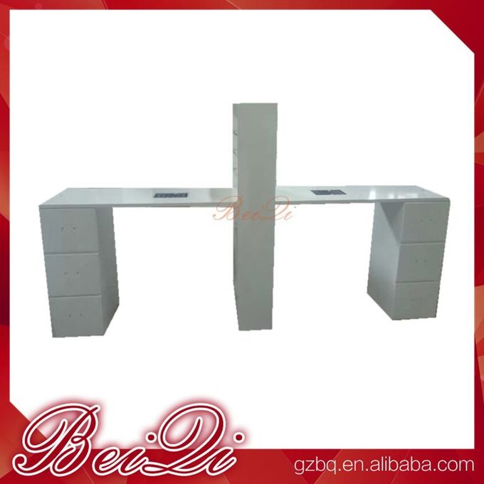 BQ!! antique beauty nail salon equipment manicure nail table , used pedicure manicure desk wholesale price
